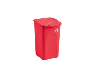 """""""Primavera"""" Cos rosu pt rufe 28x35cm h40cm 25L, 1 buc."""