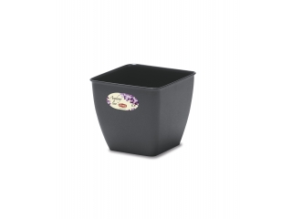 "Flower pot ""Academy"" 14*14*13h cm, 1 pc."