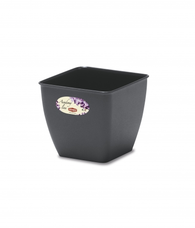 """Flower pot """"Academy"""" 14*14*13h cm, 1 pc., Ghivece,"""