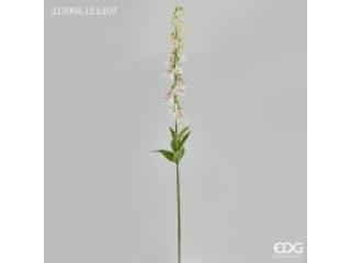 """Floare artificiala """"Digitalis"""" ivory h107 cm, 1 buc."""