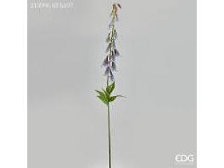 """Floare artificiala """"Digitalis"""" Lilac h107 cm, 1 buc."""