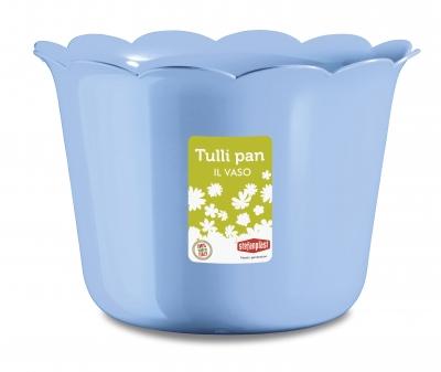 """Ghiveci p/u flori albastru """"Tulli Pan"""" d.30* 22 h cm, 1 buc., Ghivece,"""