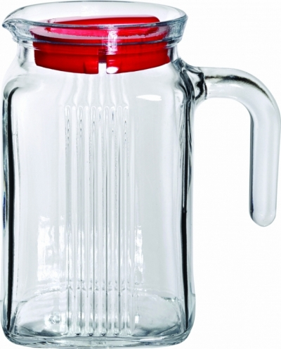 "Jug with cover ""Refrigerator"" 600 ml, 1 pcs., Decanters, pitchers,"