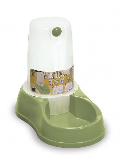 Vas de apa pentru animale, 3,5 l,  1 buc, PET - obiecte pentru animalele dragi,