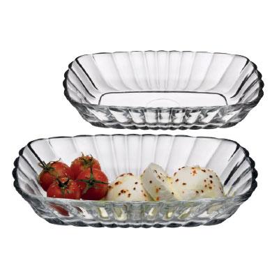 """Set boluri """"Mezze"""" 16*10-19*12 cm, 2 pcs.,1/6, Platouri, salatiere, boluri, vase pentru fructe și desert,"""