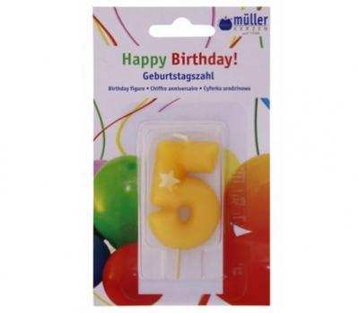 "Luminare Birthday cifra ""5"" , 1 buc, Holidays,"