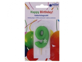 "Luminare Birthday cifra ""9"" , 1 buc"