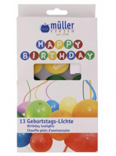 Set luminari Birthday, 13 piese, Holidays,