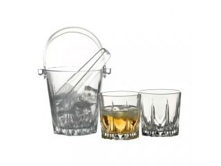 "Whisky set ""Karat"", ice box+ 6 glasses"