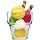 """Minicornet"" Ice cream cup, 3 pcs. 1/8"
