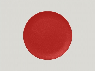 """Neo fusion""Farfurie plata rotunda 29 cm. Red, 1buc."