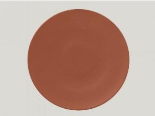 """Neo fusion""Farfurie plata rotunda 29 cm.Brown, 1buc."