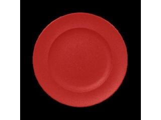 """Neo fusion""Farfurie plata rotunda 33 cm. Red, 1buc."