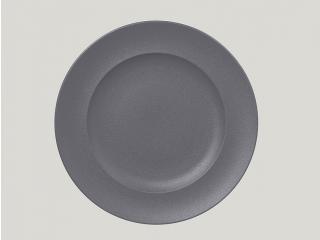 """Neo fusion""Farfurie plata rotunda 33 cm. Gray, 1buc."