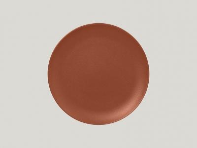 """""""Neo fusion""""Platou 24 cm. Brown, 1buc., NEO FUSION,"""
