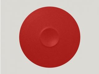 """""""Neo fusion""""Platou 30 cm.Bright red, 1buc."""