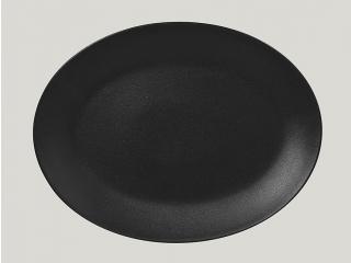 """Neo fusion""""Platou oval 36 cm. Black 1buc."""