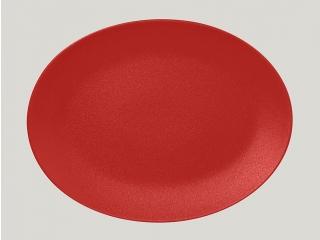"""""""Neo fusion""""Platou oval t/r 36 cm. Red 1buc."""