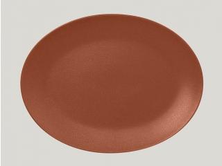 """""""Neo fusion""""Platou oval 36 cm. Brown 1buc."""