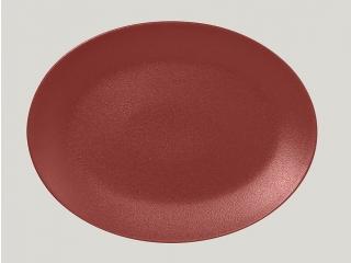 """""""Neo fusion""""Platou oval 36 cm. Dark red 1buc."""
