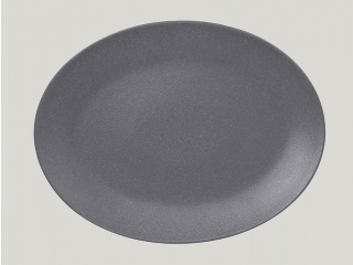 """Neo fusion""Platou oval 36 cm. Grey 1buc."