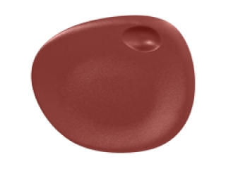 """""""Neo fusion""""Platou 31*26,5  cm. Dark red 1buc."""