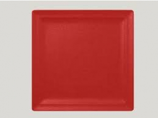 """Neo fusion""Platou patrat 30 cm Red,1buc."