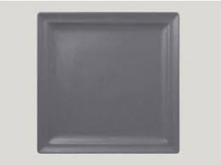 """Neo fusion""Platou patrat 30 cm. Grey,1buc."