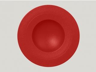 """Neo fusion""Farfurie adinca 29cm. Red 1buc."