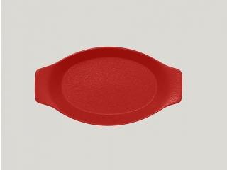 """""""Neo fusion""""Platou oval cu doua minere t/r 25cm. Red 1buc."""