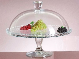"Footed cake dish with cover ""Patisserie"" 1/1"