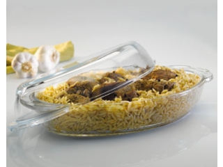 "Ovenware with cover ""Borcam"" 2000 ml, 1 pcs."