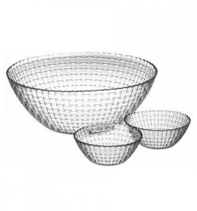 """""""Habitat"""" Set salatiere 1+6pcs.(10254+6*10581)   1/4, Platouri, salatiere, boluri, vase pentru fructe și desert,"""