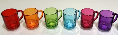 """PUB""Cana 250 ml, 1buc. blue 1/12, Tea and coffee mugs,"