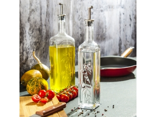 """Homemade"" Oil/Vinegar set, 2 pcs."