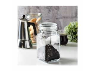 "Jar with glass cover ""Kremlin"" 1000 gr, 1 pcs."