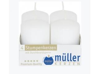 Set luminare-pilon White 100/50 mm, 4 buc