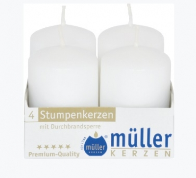"Set luminare-pilon White 100/50 mm, 4 buc, ""BSS"","