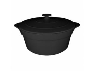 """""""Chefs fusion""""Cratita cu capac t/r 16 cm. Black,1set"""