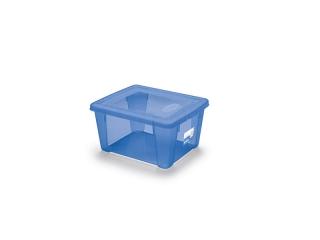 """""""Visual"""" Cutie pentru depozitare albastra S, 1 buc"""