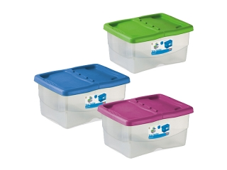 """Junior"" Box multifunctional alb cu capac color , 1 buc."