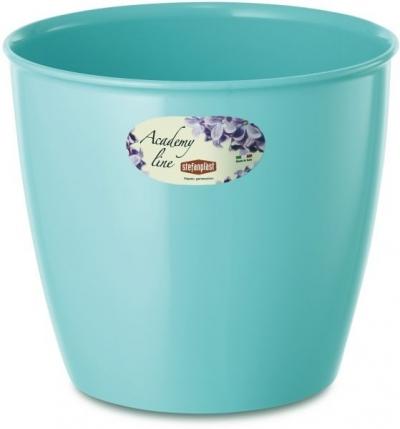 """""""Academy Line"""" Ghiveci pentru flori albastru D.16*15h cm, 1 buc., Ghivece,"""