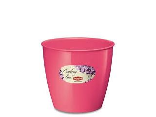 """""""Academy Line Lux"""" Ghiveci pentru flori roz D.14*13h cm, 1 buc."""