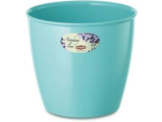 """""""Academy Line Lux"""" Ghiveci pentru flori albastru D.18*17h cm, 1 buc."""
