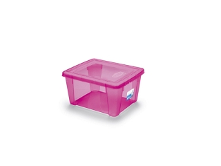 """""""Visual"""" Cutie pentru depozitare roz S, 1 buc"""