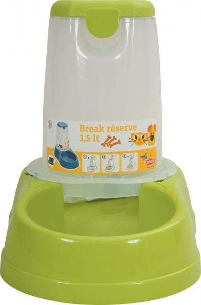 """""""Linia Storage""""Vas pentru alimente pentru animale 1.5Lt. verde mela,  1 buc, Vase de alimentare,"""