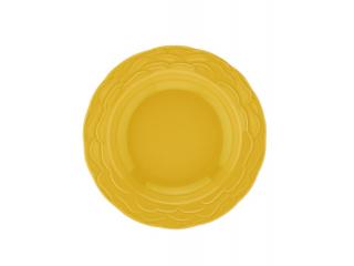 """NC Athena"" Farfurie adinca , galben, 22 cm., 1 buc."