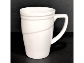 """White"" Cana p/u ceai, 1 pcs"