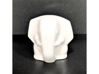 """White"" Figurina elefant, 1 pcs"