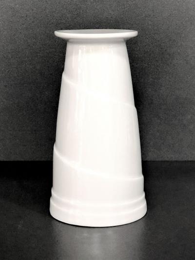 """White"" Vaza din portelan 325 ml, 1 pcs, WHITE,"